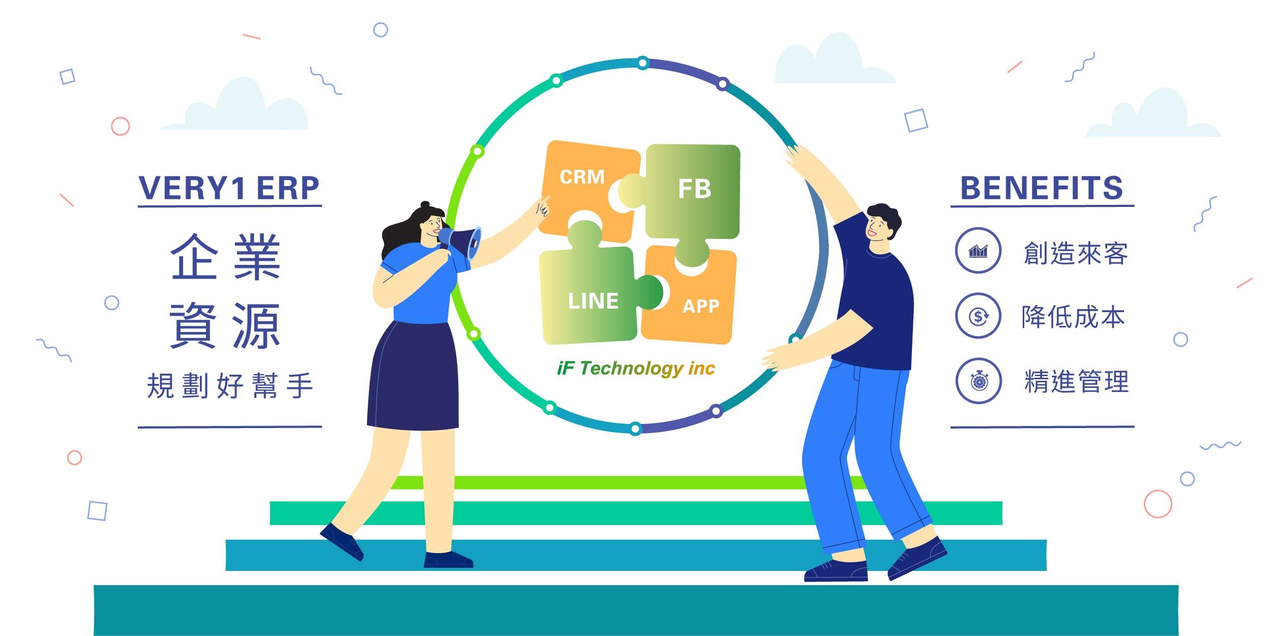 企業資源規劃,ERP,CRM,Line官方帳號,APP開發,erp系統,客戶關係管理,erp推薦
